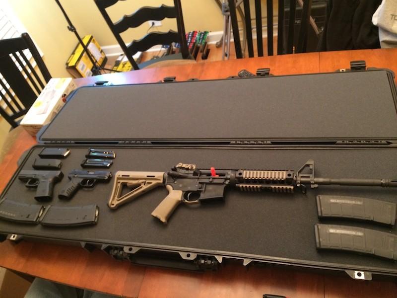 Pelican 1750 Gun Case – Military Grade Weapon Protection