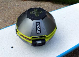 Ryobi Floating Speaker and Light Show Review